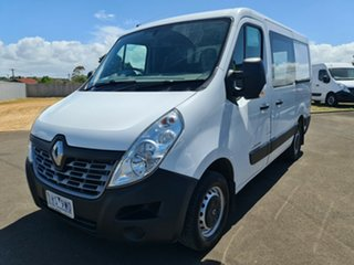 2016 Renault Master X62 Low Roof SWB Glacier White 6 Speed Manual Van.
