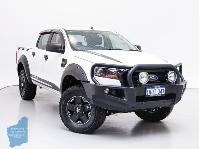 Used Ford Ranger PX MkII XL 3.2 (4x4), 2015 Ford Ranger PX MkII XL 3.2 (4x4) White 6 Speed Automatic Crew Cab Utility