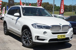 2016 BMW X5 F15 xDrive30d White 8 Speed Sports Automatic Wagon.