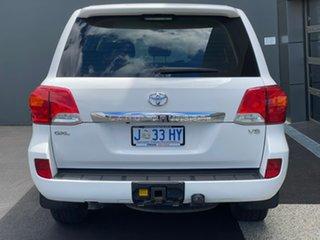 2013 Toyota Landcruiser VDJ200R MY13 GXL White 6 Speed Sports Automatic Wagon