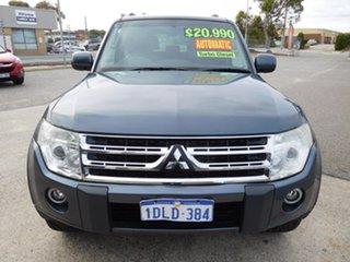 2010 Mitsubishi Pajero NT MY10 GLS Grey 5 Speed Sports Automatic Wagon.