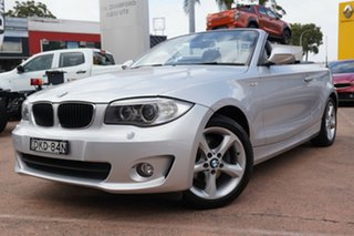 2013 BMW 118d E88 MY13 Update Silver 6 Speed Automatic Convertible.