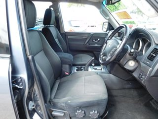 2010 Mitsubishi Pajero NT MY10 GLS Grey 5 Speed Sports Automatic Wagon