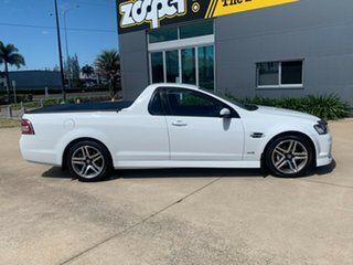 2011 Holden Ute VE II SV6 White 6 Speed Sports Automatic Utility.
