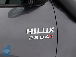 2017 Toyota Hilux GUN126R SR5 (4x4) Grey 6 Speed Automatic Dual Cab Utility