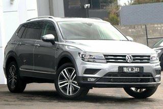 2020 Volkswagen Tiguan 5N MY20 162TSI Highline DSG 4MOTION Allspace Silver 7 Speed.
