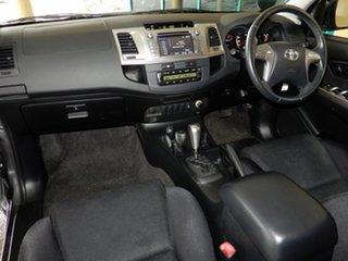 2014 Toyota Hilux KUN26R MY14 SR5 (4x4) Grey 5 Speed Automatic Dual Cab Pick-up.
