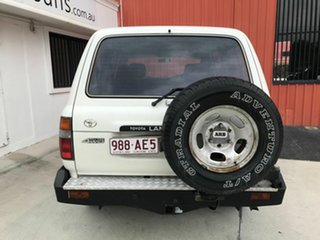 1996 Toyota Landcruiser HZJ80R GXL White 5 Speed Manual Wagon