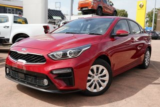 2018 Kia Cerato BD MY19 S Red 6 Speed Automatic Sedan.
