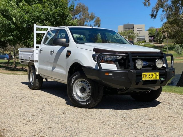 Used Ford Ranger PX MkII XL Wodonga, 2017 Ford Ranger PX MkII XL White 6 Speed Sports Automatic Cab Chassis