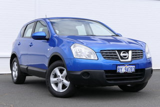 2009 Nissan Dualis J10 ST X-tronic AWD Blue 6 Speed Constant Variable Hatchback.