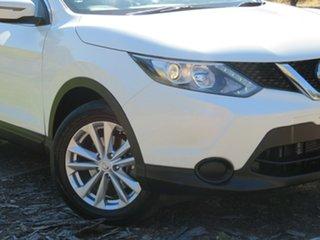 2015 Nissan Qashqai J11 ST White 1 Speed Constant Variable Wagon.