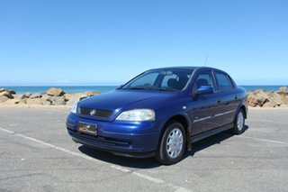 2003 Holden Astra TS MY03 City Blue 5 Speed Manual Hatchback.