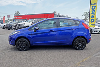 2011 Ford Fiesta WT CL PwrShift Blue 6 Speed Sports Automatic Dual Clutch Hatchback