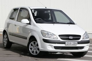 2011 Hyundai Getz TB MY09 S White 4 Speed Automatic Hatchback.