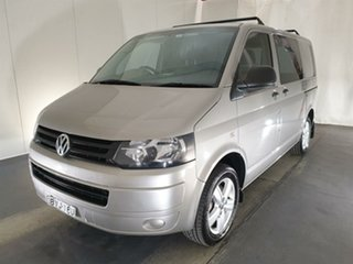 2011 Volkswagen Transporter T5 MY11 Low Roof DSG Gold 7 Speed Sports Automatic Dual Clutch Van.