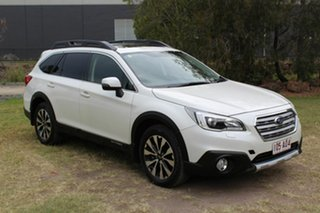 2015 Subaru Outback B6A MY16 2.0D CVT AWD Premium White 7 Speed Constant Variable Wagon.