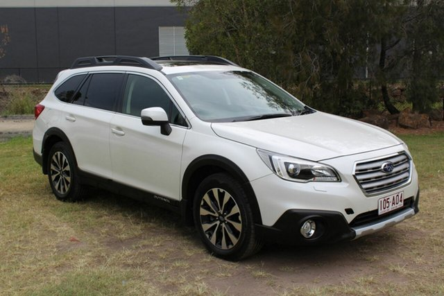 Used Subaru Outback B6A MY16 2.0D CVT AWD Premium Ormeau, 2015 Subaru Outback B6A MY16 2.0D CVT AWD Premium White 7 Speed Constant Variable Wagon