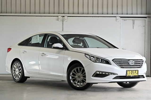 Used Hyundai Sonata LF2 MY16 Active Laverton North, 2016 Hyundai Sonata LF2 MY16 Active White 6 Speed Sports Automatic Sedan