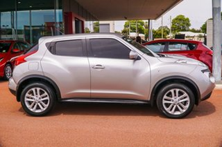 2014 Nissan Juke F15 MY14 ST 2WD Silver 5 Speed Manual Hatchback