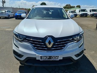 2019 Renault Koleos HZG Life X-tronic White 1 Speed Constant Variable Wagon.