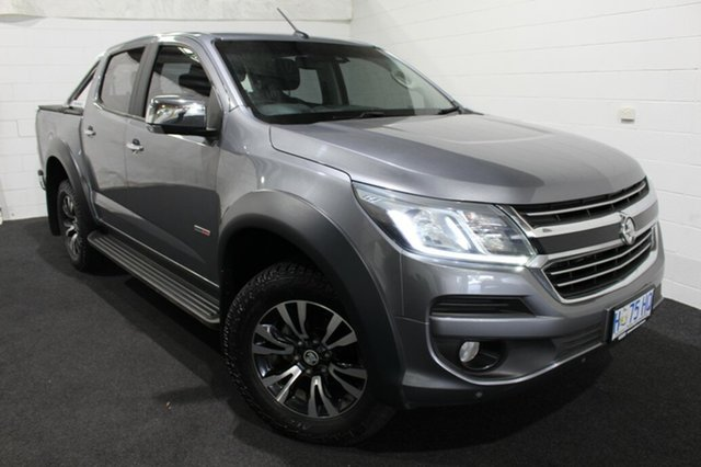 Used Holden Colorado RG MY17 LTZ Pickup Crew Cab Glenorchy, 2017 Holden Colorado RG MY17 LTZ Pickup Crew Cab Grey 6 Speed Manual Utility