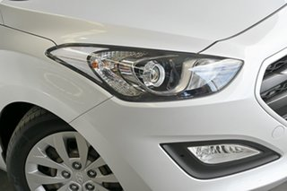 2015 Hyundai i30 GD3 Series II MY16 Active Silver 6 Speed Sports Automatic Hatchback.