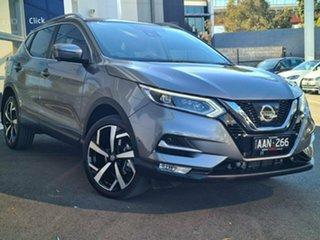 2018 Nissan Qashqai J11 Series 2 N-TEC X-tronic Grey 1 Speed Constant Variable Wagon.