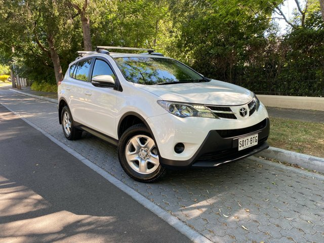 Used Toyota RAV4 ASA44R GX AWD Hawthorn, 2013 Toyota RAV4 ASA44R GX AWD White 6 Speed Sports Automatic Wagon