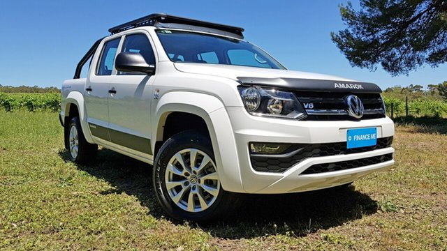 Used Volkswagen Amarok 2H MY19 TDI550 4MOTION Perm Core Nuriootpa, 2019 Volkswagen Amarok 2H MY19 TDI550 4MOTION Perm Core White 8 Speed Automatic Utility
