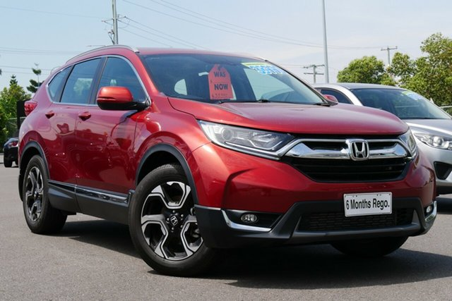 Used Honda CR-V RW MY18 VTi-L FWD Hillcrest, 2018 Honda CR-V RW MY18 VTi-L FWD Red 1 Speed Constant Variable Wagon