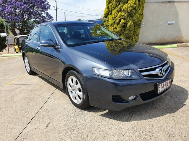 Used Honda Accord Euro CL MY2007 Toowoomba, 2007 Honda Accord Euro CL MY2007 Grey 5 Speed Automatic Sedan