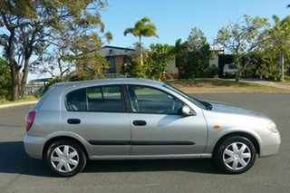 2005 Nissan Pulsar N16 S2 MY2004 ST Silver 5 Speed Manual Hatchback.