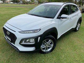 2019 Hyundai Kona OS.2 MY19 Active 2WD Chalk White 6 Speed Sports Automatic Wagon.