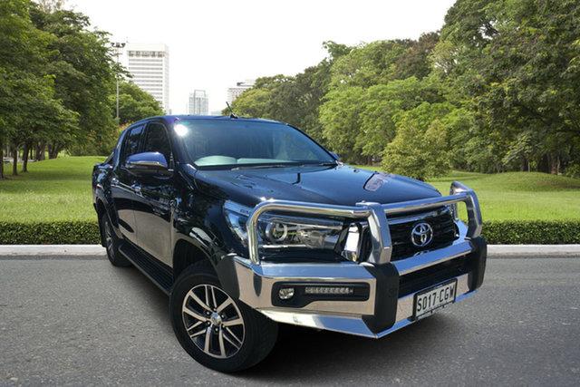 Used Toyota Hilux GUN126R SR5 Double Cab Paradise, 2018 Toyota Hilux GUN126R SR5 Double Cab Black 6 Speed Sports Automatic Utility