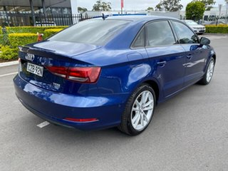 2014 Audi A3 8V MY15 Attraction S Tronic Blue 7 Speed Sports Automatic Dual Clutch Sedan