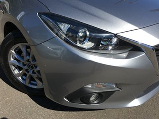 2016 Mazda 3 BM5478 Maxx SKYACTIV-Drive Billet Silver 6 Speed Sports Automatic Hatchback.