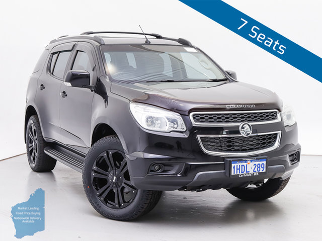 Used Holden Colorado 7 RG MY15 LT (4x4), 2014 Holden Colorado 7 RG MY15 LT (4x4) Black 6 Speed Automatic Wagon