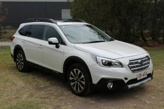 2015 Subaru Outback B6A MY16 2.0D CVT AWD Premium White 7 Speed Constant Variable Wagon