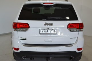 2017 Jeep Grand Cherokee WK MY17 Limited White 8 Speed Sports Automatic Wagon.