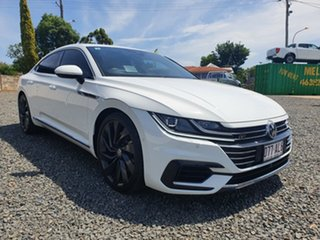 2017 Volkswagen Arteon 3H MY18 206TSI Sedan DSG 4MOTION R-Line White 7 Speed.