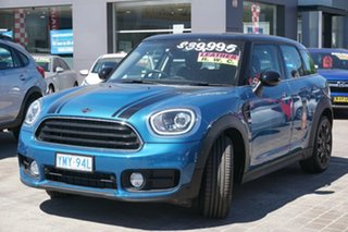 2018 Mini Countryman F60 Cooper Steptronic Blue 6 Speed Sports Automatic Wagon.