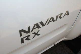 2010 Nissan Navara D40 RX (4x4) White 6 Speed Manual Cab Chassis