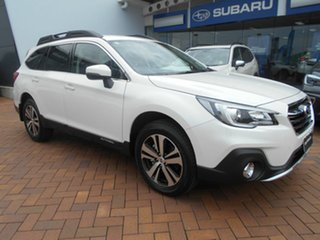 2020 Subaru Outback B6A MY20 2.5i CVT AWD Vision Plus Crystal White 7 Speed Constant Variable Wagon.