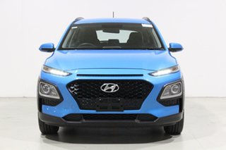 2019 Hyundai Kona OS.3 MY20 GO (FWD) Blue 6 Speed Automatic Wagon.