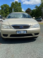 2006 Ford Fairmont BF Cream 4 Speed Sports Automatic Sedan