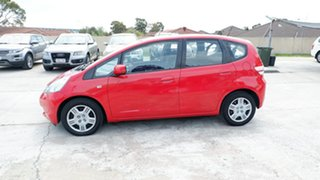 2010 Honda Jazz GE MY10 GLi Red 5 Speed Automatic Hatchback