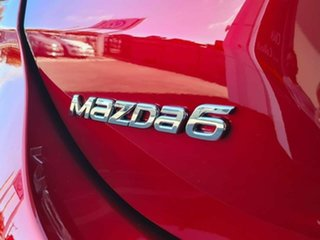 2018 Mazda 6 Atenza Red 6 Speed Automatic Sedan