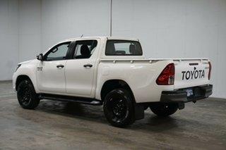 2020 Toyota Hilux GUN126R SR Double Cab White 6 Speed Sports Automatic Utility.