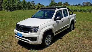 2019 Volkswagen Amarok 2H MY19 TDI550 4MOTION Perm Core White 8 Speed Automatic Utility